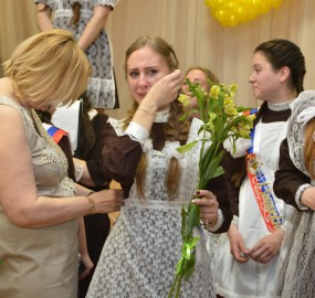 www.kadr32.ru Сергей Горбачук фото в школе последний звонок (17)