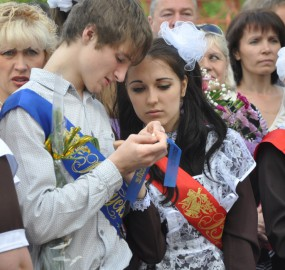 www.kadr32.ru Сергей Горбачук фото в школе последний звонок (22)