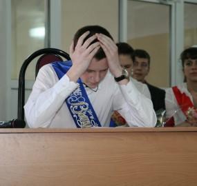 www.kadr32.ru Сергей Горбачук фото в школе последний звонок (27)